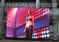 Energy Saving P4.81 Outdoor Led Screen Rental With 500 * 1000mm Iron Cabinet